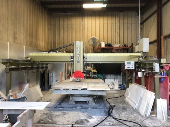 Warehouse where we fabricate the countertops