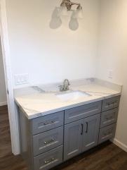 Bathroom Vanity -after