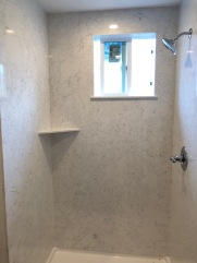 Shower remodel - after